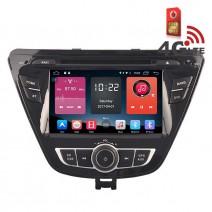 Навигация / Мултимедия с Android 6.0 или 10 и 4G/LTE за Hyundai Elantra 2014 DD-K7267