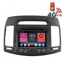 Навигация / Мултимедия с Android 6.0 или 10 и 4G/LTE за Hyundai Elantra DD-K7256