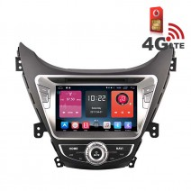 Навигация / Мултимедия с Android 6.0 или 10 и 4G/LTE за Hyundai Elantra 2012 DD-K7258