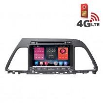 Навигация / Мултимедия с Android 6.0 или 10 и 4G/LTE за Hyundai Sonata 2015 DD-K7272