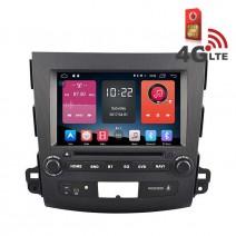 Навигация / Мултимедия с Android 6.0 или 10 и 4G/LTE за Mitsubishi Outlander DD-K7848
