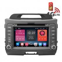 Навигация / Мултимедия с Android 6.0 или 10 и 4G/LTE за Kia Sportage DD-K7529