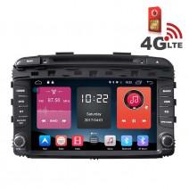 Навигация / Мултимедия с Android 6.0 или 10 и 4G/LTE за Kia Sorento 2015 DD-K7590