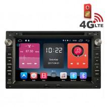Навигация / Мултимедия с Android 6.0 или 10 и 4G/LTE за VW Golf, Bora, Polo и други DD-K7229