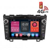 Навигация / Мултимедия с Android 6.0 или 10 и 4G/LTE за Honda CR-V DD-K7318