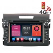 Навигация / Мултимедия с Android 6.0 или 10 и 4G/LTE за Honda CR-V 2012-2015 DD-K7306