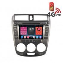 Навигация / Мултимедия с Android 6.0 или 10 и 4G/LTE за Honda City 1.5 T DD-K7309