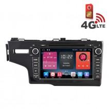 Навигация / Мултимедия с Android 6.0 или 10 и 4G/LTE за Honda Fit 2014 DD-K7314