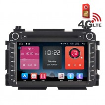 Навигация / Мултимедия с Android 6.0 или 10 и 4G/LTE за Honda Vezel DD-K7316