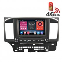 Навигация / Мултимедия с Android 6.0 или 10 и 4G/LTE за Mitsubishi Lancer DD-K7845