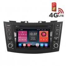 Навигация / Мултимедия с Android 6.0 или 10 и 4G/LTE за Suzuki Swift DD-K7653