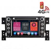 Навигация / Мултимедия с Android 6.0 или 10 и 4G/LTE за Suzuki Grand Vitara DD-K7660