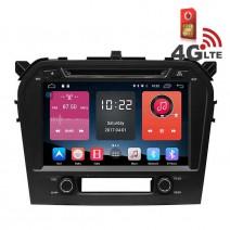 Навигация / Мултимедия с Android 6.0 или 10 и 4G/LTE за Suzuki Grand Vitara 2016 DD-K7662