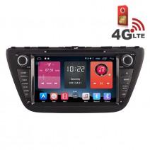 Навигация / Мултимедия с Android 6.0 или 10 и 4G/LTE за Suzuki SX4 S-Cross DD-K7654