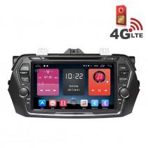 Навигация / Мултимедия с Android 6.0 или 10 и 4G/LTE за Suzuki Ciaz/Alivio DD-K7659
