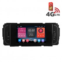 Навигация / Мултимедия с Android 6.0 или 10 и 4G/LTE за Chrysler Grand Voyager, Jeep Grand Cherokee и други DD-K7838