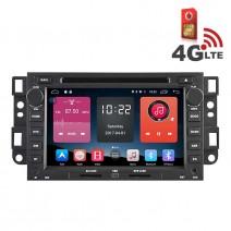 Навигация / Мултимедия с Android 6.0 или 10 и 4G/LTE за Chevrolet Captiva, Epica и други DD-K7421