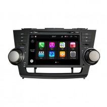 Навигация / Мултимедия с Android 8.0 Oreo за Toyota Highlander - DD-Q035