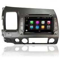 Навигация / Мултимедия с Android 7.1 NOUGAT за Honda Civic - DD-Q044