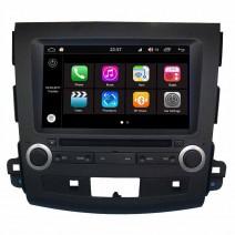 Навигация / Мултимедия с Android 7.1 NOUGAT за Mitsubishi Outlander и други - DD-Q056