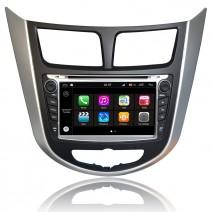 Навигация / Мултимедия с Android 8.0 Oreo за Hyundai Verna - DD-Q067
