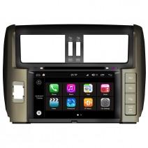 Навигация / Мултимедия с Android 7.1 NOUGAT за Toyota Land Cruiser Prado 150- DD-Q065