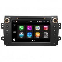 Навигация / Мултимедия с Android 7.1 NOUGAT за Fiat Sedici - DD-Q124