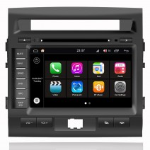 Навигация / Мултимедия с Android 8.0 Oreo за Toyota Land Cruiser  200 - DD-Q182