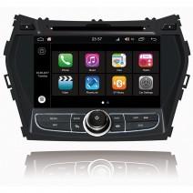 Навигация / Мултимедия с Android 8.0 Oreo за Hyundai IX45, Santa Fe  - DD-Q209
