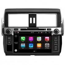Навигация / Мултимедия с Android 8.0 Oreo за Toyota Land Cruiser Prado 150 - DD-Q347