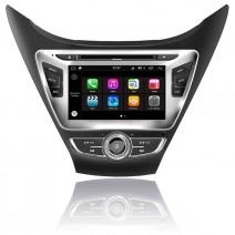 Навигация / Мултимедия с Android 7.1 NOUGAT за Hyundai Elantra 2014 - DD-Q092-3
