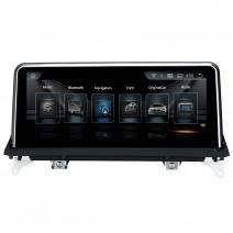 Навигация / Мултимедия с Android 9.0 Pie за BMW X5 E70 /X6 E71 CIC с голям екран - DD-8225