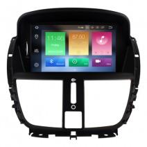 Навигация / Мултимедия с Android 8.0 или 8.1 за Peugeot 207  - DD-5395