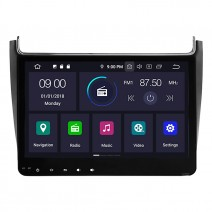 Навигация / Мултимедия с Android 10 и Голям Екран  за VW Polo 2016 - DD-5592