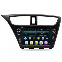 Навигация / Мултимедия с Android 9.0 Pie за Honda Civic - DD-8067
