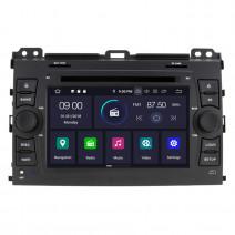 Навигация / Мултимедия с Android 10 за Toyota Land cruiser 120 - DD-7640