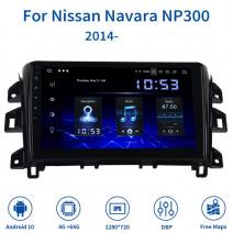 Навигация / Мултимедия с Android 10 за Nissan Navara NP300 - DD-5413